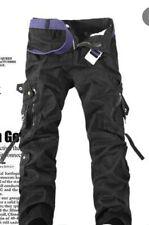 Pantalon cargo Tactic Multipoches ample souple taille 36 (ceinture à part)