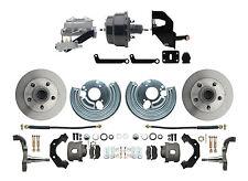 "Dodge Mopar B & E Body Power Disc Brake, 8"" Dual Black Powdercoated Pwr Brake"