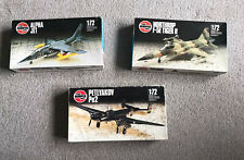 Lot Of Vintage Airfix Aircraft Model Kits 1/72 Boxed Complete 1986
