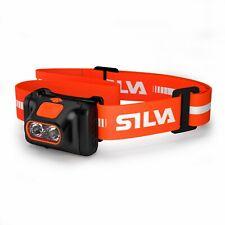 Silva Scout Linterna frontal naranja led trail running para la cabeza