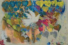 Shraga Weil Phoenix Bird Safrai Gallery Exhibition Serigraph Poster Art Print