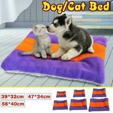 Self Warming Pet Bed Cushion Pad Dog Cat Cage Kennel Cozy Crate PLus Soft