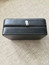 links of london Power trip travel plug set In Leather Case