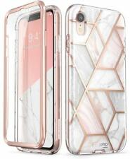 """for iPhone XR 6.1"""" i-Blason Cosmo Bling Marbel Case Cover W/ Screen Protector"""