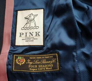 Thomas Pink LORO PIANA FOUR SEASONS SUPER 130's Wool mens blazer - Made in Italy