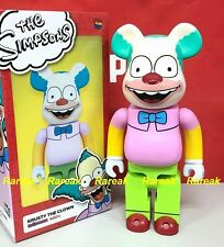 Medicom 2017 Be@rbrick 20th Fox 400% The Simpsons Krusty Clown Show Bearbrick