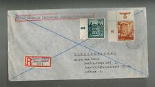 1941 Sadowa Wisznia Poland to Berlin Germany GG cover Dienstpost
