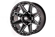 20 inch 20x9 Red Dirt Road RD04 BLACK MACHINED wheel rim 8x6.5 8x165.1 +0