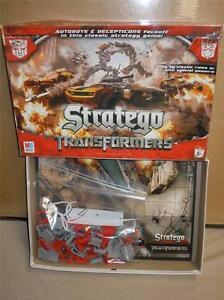 Milton Bradley Stratego Transformers the Classic Board Game By Hasbro 2007 VGC