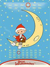 Metal Sign Mother Goose Calendar Forever, 40 CM!!!, NEW