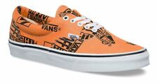 Vans ERA Logo Mix Shoes (NEW) Tangerine WAFFLE SOLE Mens Size 5-13 FREE SHIPPING