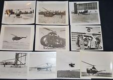 NACA / NASA Helicopter Photo Lot