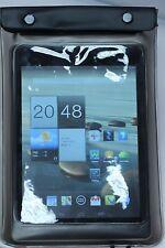 """Noir 7 """"boîtier étanche sac pour Kindle Xoom livret HTC Flyer & autres comprimés"""