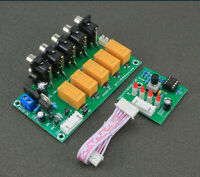 Audio Input Signal Selector Module 4 In 1 Out Relay Audio Switching DIY Kits