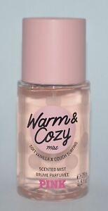 Victoria's Secret Rose Chaud & Confortable Body Mist Parfum Spray 74ml Voyage