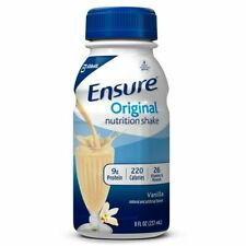 Ensure Original Nutrition Shake Vanilla Flavor 8oz ( Pack of 12 )