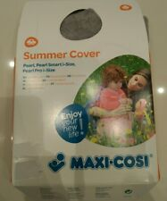 Maxi Cosi Car Seat Summer Cover Fresh Grey Pearl Pro one/2way pearl/pearl