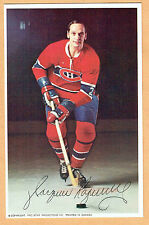 1969-71 Canadiens (Pro Star Promotions) Team Issued Postcard, Jacques Laperriere