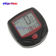 Bicycle Bike Cycling Computer LCD Odometer Speedometer Stopwatch Speed meter CF