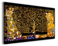Quadro moderno Gustav Klimt vol XVI stampa su tela canvas l'albero della vita