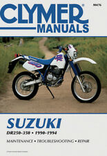 Clymer Repair Manual Fits: Suzuki DR350,DR350SE,DR250SE,DR250,DR350S M476 462476