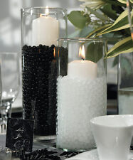 Black gel marbles that expand in water - makes 3 gal