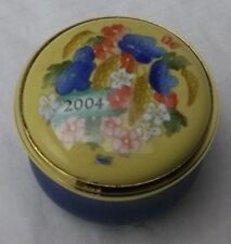 Halcyon Days Enamels Year Box Small 2004 New