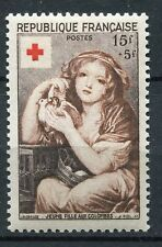 FRANCE TIMBRE NEUF N° 1007 ** JEUNE FILLE AUX COLOMBES