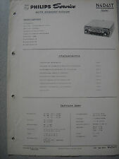 PHILIPS n4d41t Autoradio Service Manual, edizione 03/64