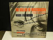 MARIA FARANDOURI / MIKIS THEODORAKIS The ballad of Mathausen 14C 062 70204 GRECE