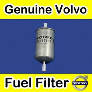 GENUINE VOLVO C70 (up to 02 Petrol) FUEL FILTER
