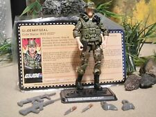 GI JOE ~ 2011 WET SUIT ~ MISSION BRAZIL CONVENTION ~ 100%complete & FILE CARD
