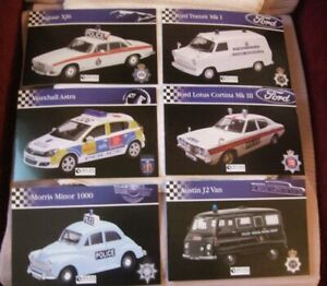 """ATLAS """"POLICE CAR"""" MODEL BOOKLETS - SOLD INDIVIDUALLY - PLEASE STATE WHICH ONE"""