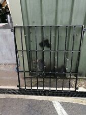 NO619 METAL FENCE  1000MM  ( 1100MM WITH THE HANGERS ) X 40MM X 1100MM HIGH