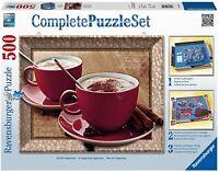 Puzzle Classique  Temps D'Un Cappuccino Complete puzzle set  500 Pièces