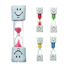 Kids colourful toothbrush timer sand hourglass brushing autism