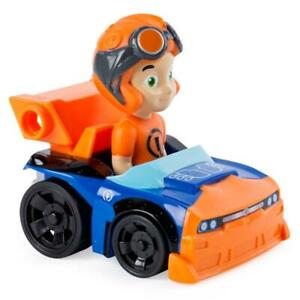 Nickelodeon Rivets Rusty Racer Orange Car Collectible Kids Toy Spin Master