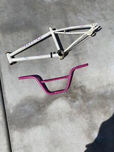 1987 Schwinn Predator Freeform BMX Bike Frame Handlebars Free Form 20 Old School