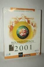 ROLAND GARROS FRENCH OPEN 2001 GIOCO NUOVO PC CDROM ED ITA PAL BIG BOX GD1 50313