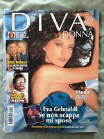 270# MAGAZINE DIVA 4 2005 EROS RAMAZZOTTI HUNZIKER EVA GRIMALDI MONICA BELLUCCI