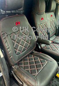 IN STOCK!!  VAN SEAT COVERS VAUXHALL VIVARO RENAULT TRAFIC 2015+ R LOGO BENTLEY