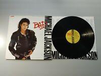 1010- MICHAEL JACKSON BAD PROMOCIONAL ESPAÑA 1987 LP VIN POR VG DIS VG