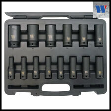 "5-19 mm 8 pièces impact bit socket set 1//2/"" hex int"