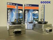 2Pcs New Oem D3S 66340 6000K 35W Hid Xenon Light Bulbs Set For Osram