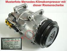 Klimakompressor Riemenscheibe Kupplung für Mercedes A-Klasse W169 Benzin - NEU
