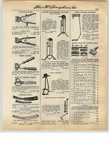 1931 PAPER AD Stewart Sheep Horse Clipping Shearing Machine Hand Power Parts