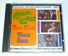 CAN CAN CD SOUNDTRACK FRANK SINATRA SHIRLEY MAC LAINE
