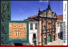 17-23 BRAZIL 2017 BAROQUE STYLE CHURCH, RELIGION, ARCHITECTURE, CHURCHES,S/S MNH