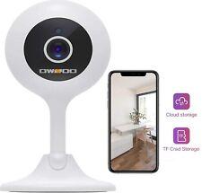 Victure Caméra de surveillance 1080p Wifi sans fil 1080p-noir
