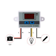 12V Digital LED Temperature Controller Thermostat Control Switch Probe TE846